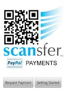 Screenshot of Scansfer Payments