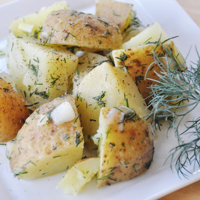 Greg's Lemon and Dill Potato Salad