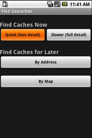 Find Geocaches