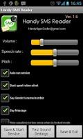 Screenshot of Handy SMS Reader