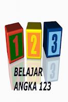 Screenshot of Belajar Angka 123