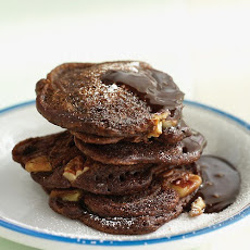 Chocolate-Pecan Pancakes