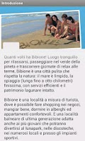 Screenshot of Bibione Official Guide 2013