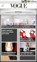 Screenshot of Vogue Brasil Mobile