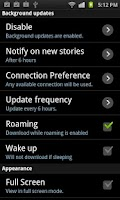 Screenshot of Mobo Rss Reader