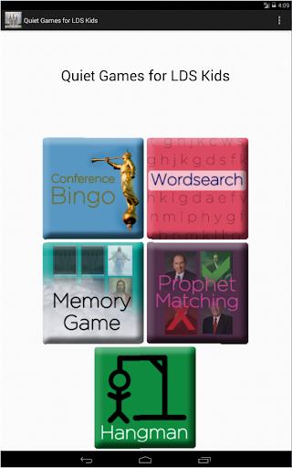 Quiet Games for LDS Kids - screenshot
