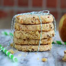 Apple Cheesecake Shortbread Cookies