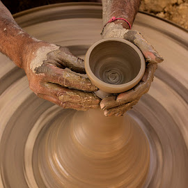 A bowl in the making.. by Rakesh Syal - Artistic Objects Other Objects (  )