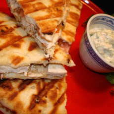 Won't You Be My Gyro Chicken Panini