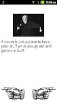 Screenshot of George Carlin Jokes
