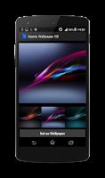 Screenshot of Xperia Wallpaper HD