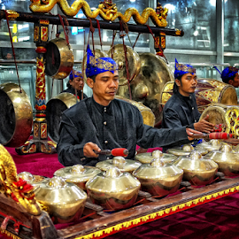 Gamelan by Herry Wibowo - People Musicians & Entertainers