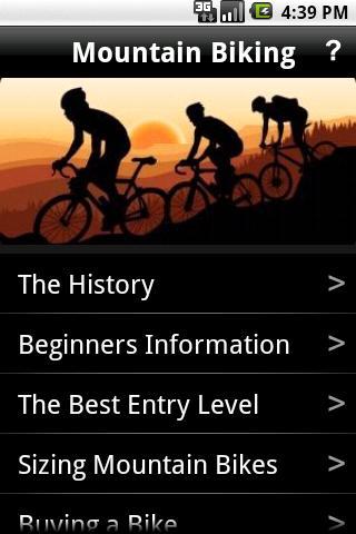 Mountain Biking Guide