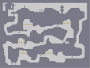 Thumbnail of the map 'Old Tunnels Under the Small Cabin we Found'