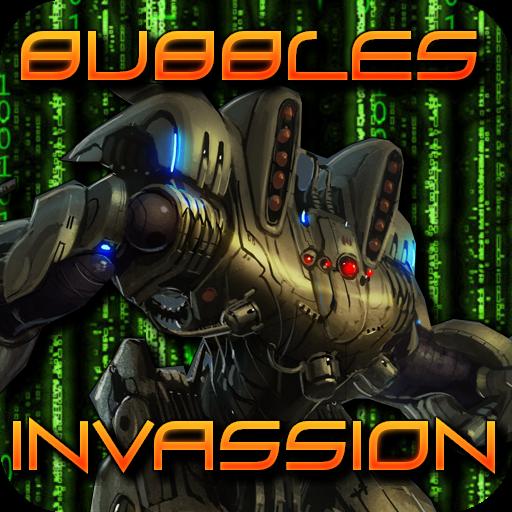 街機App 泡泡Invassion LOGO-3C達人阿輝的APP