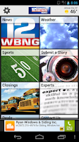 Screenshot of WBNG TV Binghamton