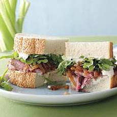 Grilled Beef-and-Horseradish Sandwiches