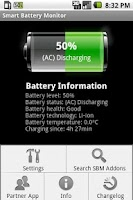 Screenshot of Smart Battery Monitor