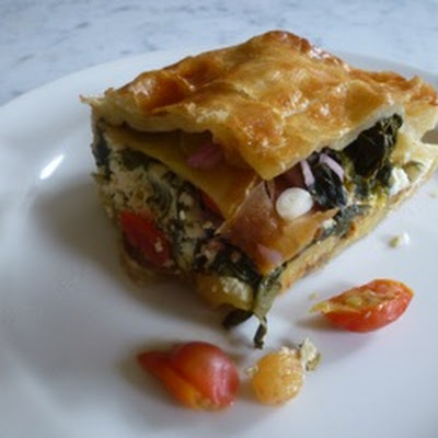 Multilayered Vegetable Pie