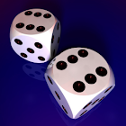 Two Dice 3D icon