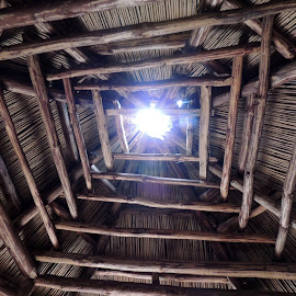 Cherokee Lodge Ceiling by Teresa Daines - Buildings & Architecture Other Interior ( Architecture, Ceilings, Ceiling, Buildings, Building )