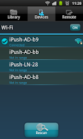 Screenshot of ipush