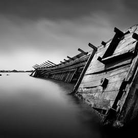 by Rony Tjayana - Black & White Landscapes