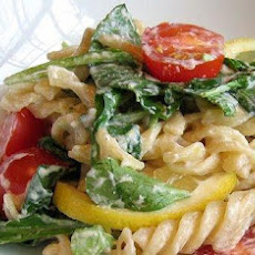 Lemon Fusilli With Arugula