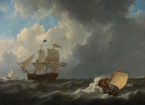 RIJKS: Johannes Christiaan Schotel: painting 1826