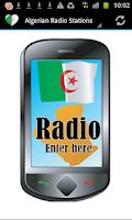 Screenshot of Algeria Radio Stations