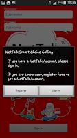 Screenshot of NetTalk by True