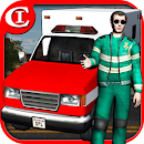 Crazy Ambulance King 3D icon