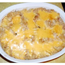 Cheesy Corned Beef Hash Casserole