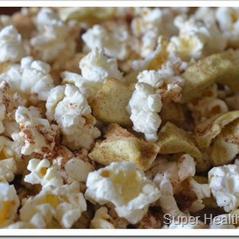 Apple Pie Popcorn Snack Mix