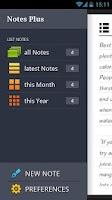Screenshot of Notes Plus