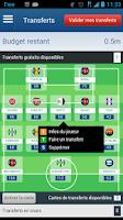 Screenshot of Fantasy Football & Pronostics
