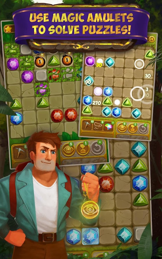 Gemcrafter: Puzzle Journey Screenshot 9