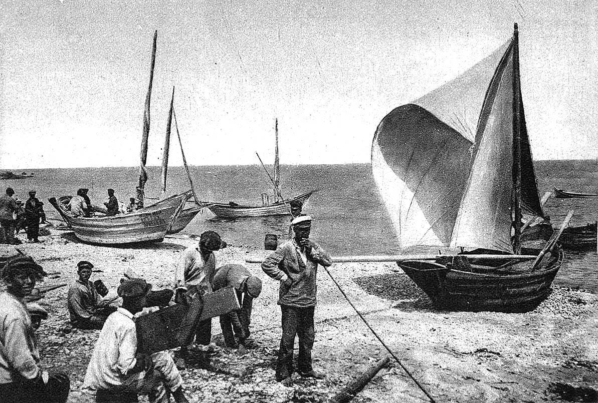 Черноморская шаланда своими руками 55