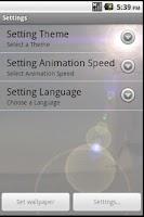 Screenshot of Animated LightHouse Live Wall