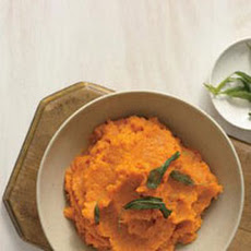 Mashed Caramel Sweet Potatoes