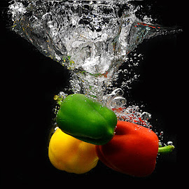 Splash #5 by Rakesh Syal - Food & Drink Fruits & Vegetables