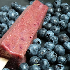 Blueberry Basil Martini Pops Recipe