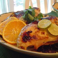 Broiled Soy, Garlic, Citrus Chicken
