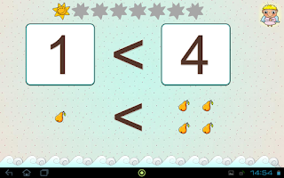 Screenshot of Čísla a matematika pro děti