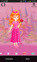 Screenshot of Dress Up Princess Party Out