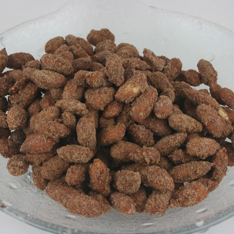 Sugared Cinnamon Almonds Slow Cooker