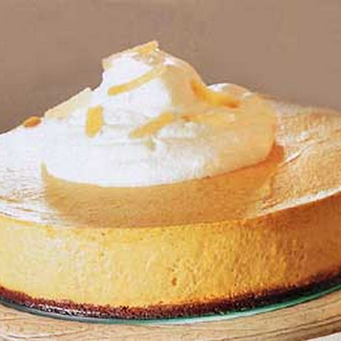 Pumpkin Chiffon Mousse with Gingersnap Crust