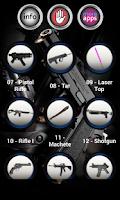Screenshot of Weapon Sounds & Ringtones