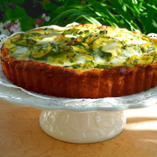 Zucchini Tart With Gruyere Cheese and Herbs