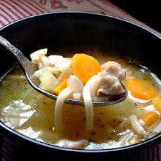 Turkey Vegetable Noodle Soup